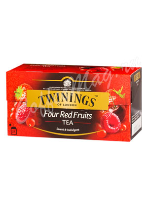 Чай Twinings Four Red Fruits 25 пак.