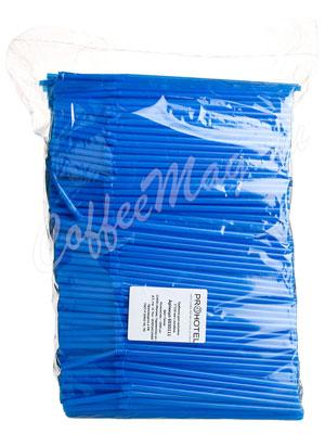 Трубочки со сгибом Prohotel L=21см D=0.5 синие