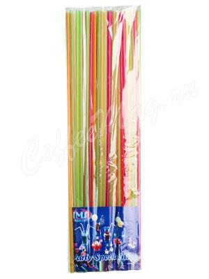 Трубочки без изгиба Party IMS L=50см D=0.6 разноцветные