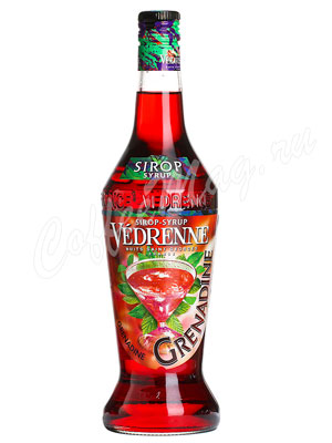 Сироп Vedrenne Гренадин 0,7л