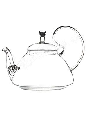 Чайник стеклянный Ландыш 1,2 л E-018A
