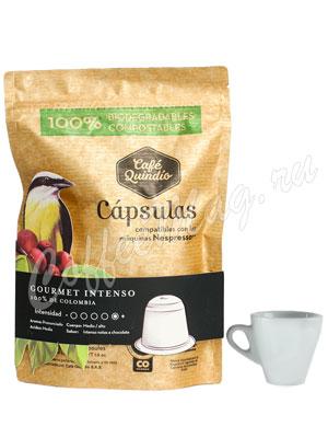 Кофе Cafe Esmeralda капсулах Gourmet Intenso 10 капсул