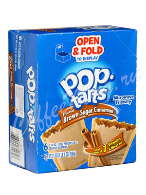 Бисквит Pop-Tarts Brown Sugar Cinnamon Печенье 595 гр