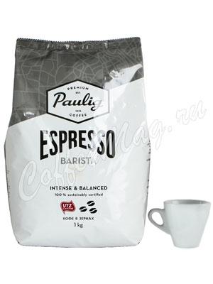 Кофе Paulig Espresso Barista в зёрнах 1кг