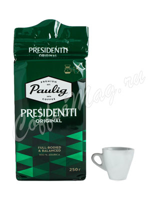 Кофе Paulig (Паулиг) Presidentti Original молотый 250 г