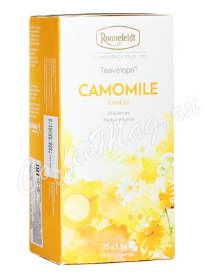Чай Ronnefeldt Camomile / Ромашка аптечная в пакетиках 25 шт.х 1,5 гр