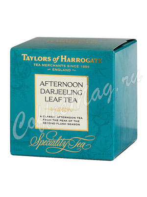 Чай Taylors of Harrogate листовой Afternoon Darjeeling Дарджилинг Полдник 125 г