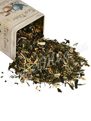 Зеленый чай Имбирная свежесть (с имбирем)