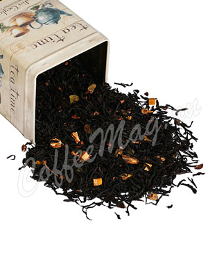 Черный чай Крем карамель