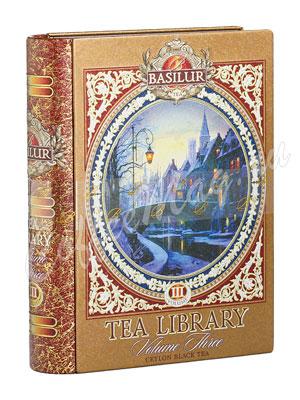 Чай Basilur Чайная книга  Чайное собрание Том 3 100 гр