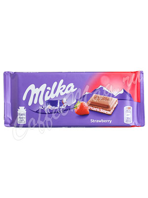 Шоколад Milka Strawberry 100 г