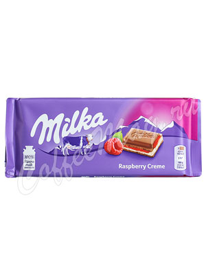 Шоколад Milka Raspberry Cream 100 г