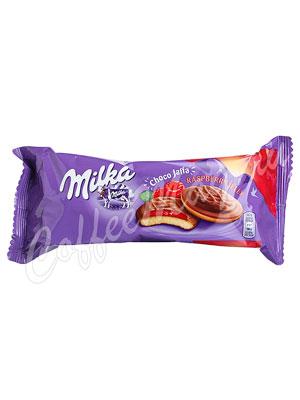 Бисквитное печенье Milka Choco Jaffa Raspberry 147 г