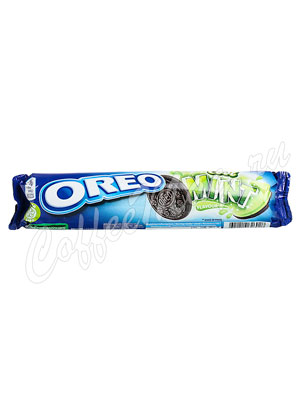 Бисквитное печенье Oreo Mint 154 гр