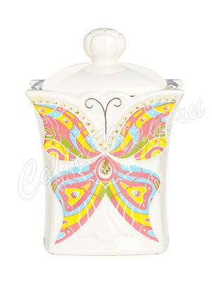 Чай Hilltop Чайница Земляника со сливками 50 гр бабочка