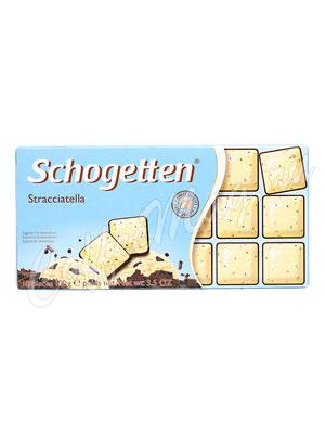 Шоколад Schogetten Stracciatella мороженое с шоколадом 100 гр