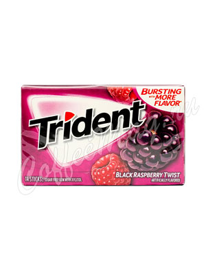 Жевательная резинка Trident Black Raspberry Twist