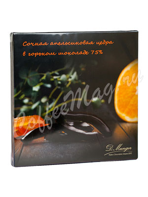 D.Munger Цукаты цедры апельсина в горьком шоколаде 110 гр