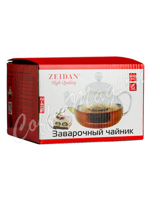 Чайник стеклянный Zeidan 600 мл Z-4176