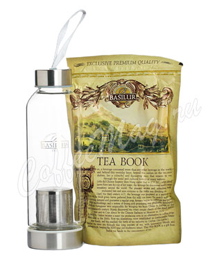 Basilur Чайный набор Чай и бутылка для чая