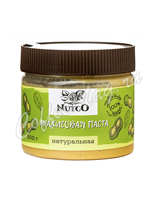 Nutco Арахисовая паста Натуральная 300 гр.