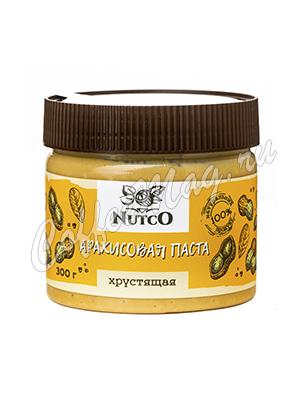 Nutco Арахисовая паста Хрустящая 300 гр.
