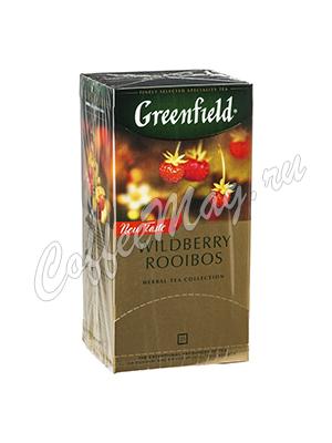 Чай Greenfield Wildberry Rooibos в пакетиках 25 шт.