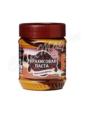 Паста АП Арахисовая шоколадная 340 гр