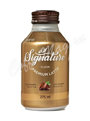 Кофейный напиток Signature Премиум Латте 275 мл.