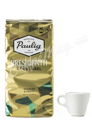 Кофе Paulig Presidentti Gold Label молотый 250 гр
