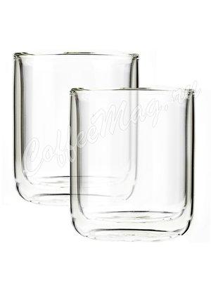 VIVA CLASSIC Термобокал (комплект 2 шт) 0,1 л (V37300) Прозрачное стекло