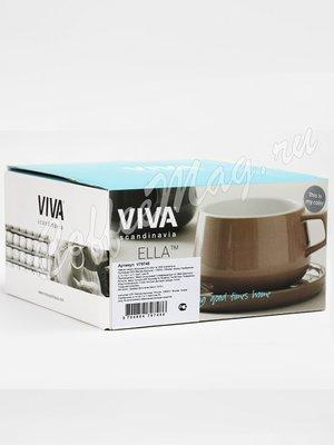 VIVA CLASSIC Ella Чайная чашка с блюдцем 0,3 л (V79748) Серый