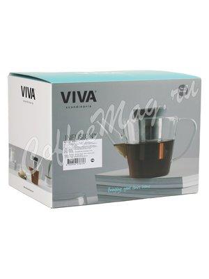 VIVA Infusion Чайник заварочный с ситечком 1 л (V27833) Серый