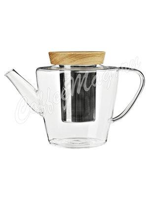 VIVA INFUSION Чайник заварочный с ситечком 1 л (V74900) Прозрачное стекло