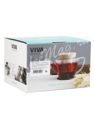 VIVA INFUSION Чайник заварочный с ситечком 0.6 л (V75400)