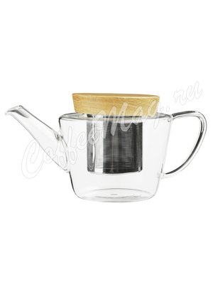 VIVA INFUSION Чайник заварочный с ситечком 0.6 л (V75400) Прозрачное стекло
