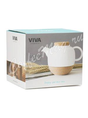VIVA LAUREN Чайник заварочный с ситечком 0.8 л (V77702) Белый