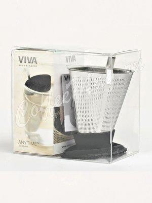 VIVA INFUSION Ситечко для заваривания чая (V29101) черный
