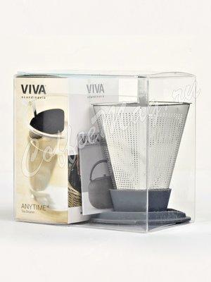 VIVA INFUSION Ситечко для заваривания чая (V29133) серый