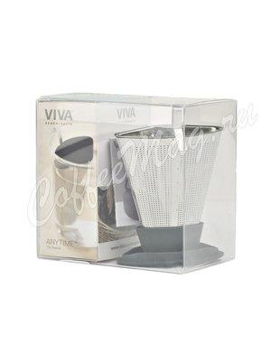 VIVA INFUSION Ситечко для заваривания чая (V29134) грифельный