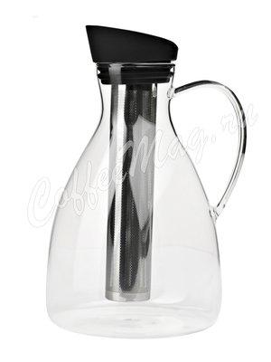 VIVA INFUSION Графин с ситечком для чая 2 л (V33301) Прозрачное стекло