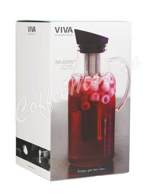 VIVA INFUSION Графин с ситечком для чая 1.8 л (V71901) Прозрачное стекло