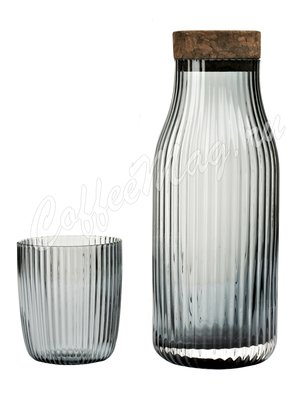 VIVA CRISTIAN Графин с двумя стаканами (V76300) Прозрачное стекло