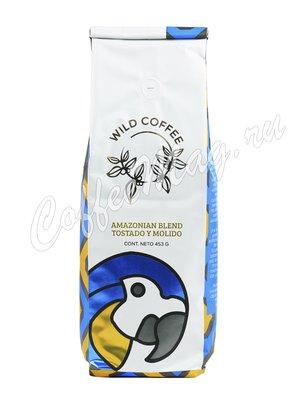 Кофе Wild Coffee Amazonian Blend молотый 453 г