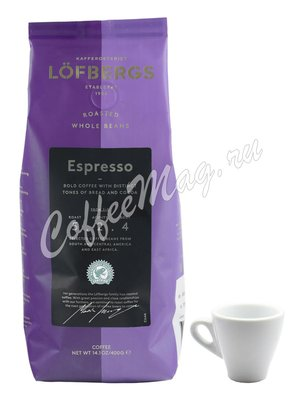 Кофе Lofberg Lila в зернах Espresso 400 г