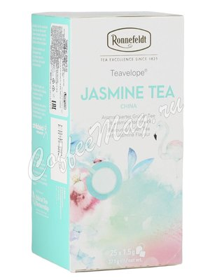Чай Ronnefeldt Jasmine Tea / Жасминовый чай в пакетиках 25шт.х 1,5 гр