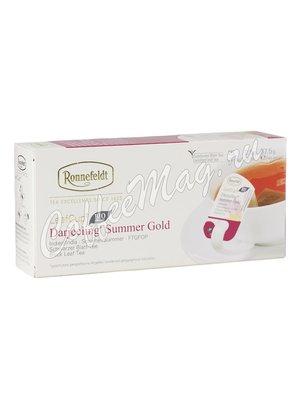Чай Ronnefeldt Darjeeling Summer Gold / Дарджилинг Саммер Голд в саше на чашку (Leaf Cup)