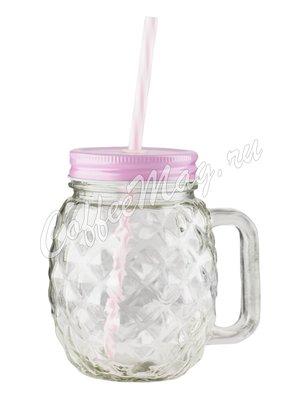 Кружка фигурная Розовая 450 мл (372MJ/4)