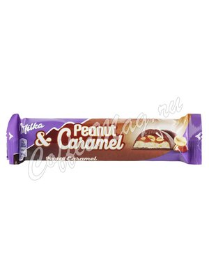Шоколад Milka Peanut Caramel 37 гр
