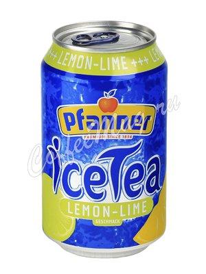 Холодный чай Pfanner Ice Tea Лимон-Лайм 330 мл